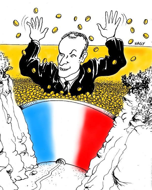 Le président des riches va privatiser les barrages français.