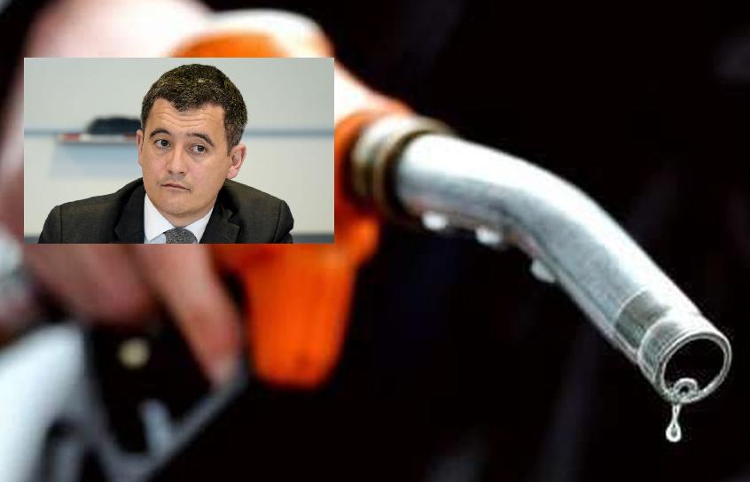 Gérald Darmanin annonce la hausse des taxes sur le carburant
