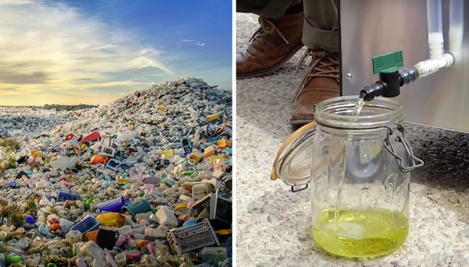 Chrysalis Transforme le Plastique en Diesel
