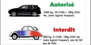 les voitures les plus récentes plus polluantes