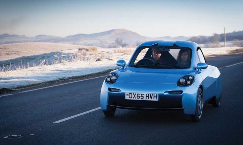 la première voiture à hydrogène arrive en France