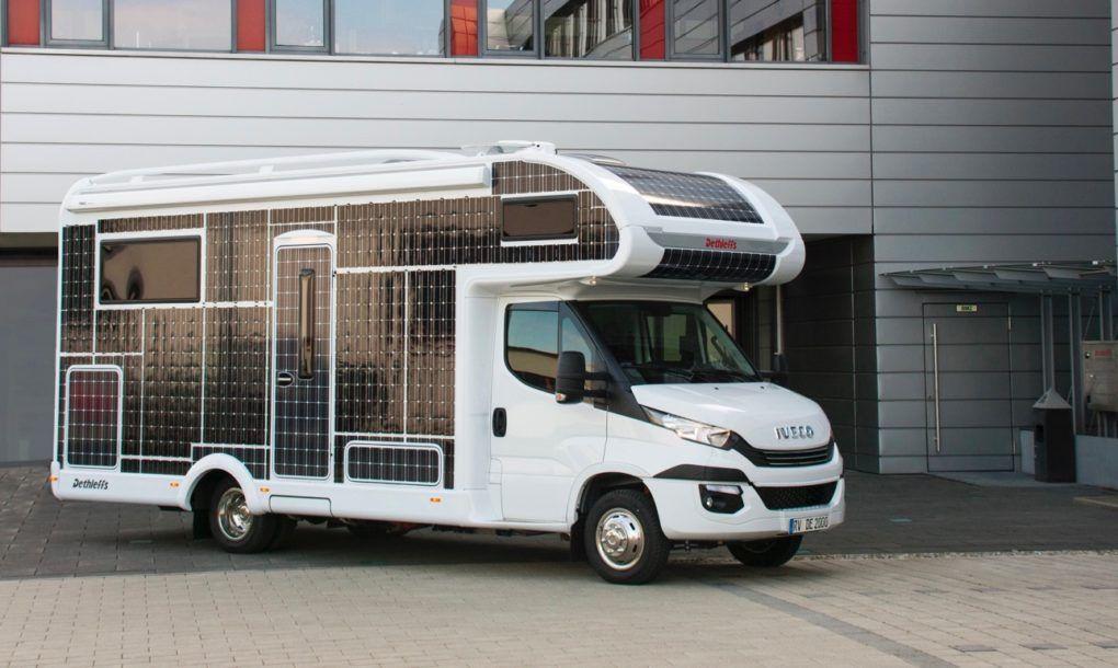 Ce camping car fonctionne sans carburant