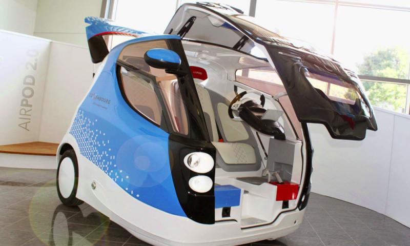 La voiture Au Moteur à air