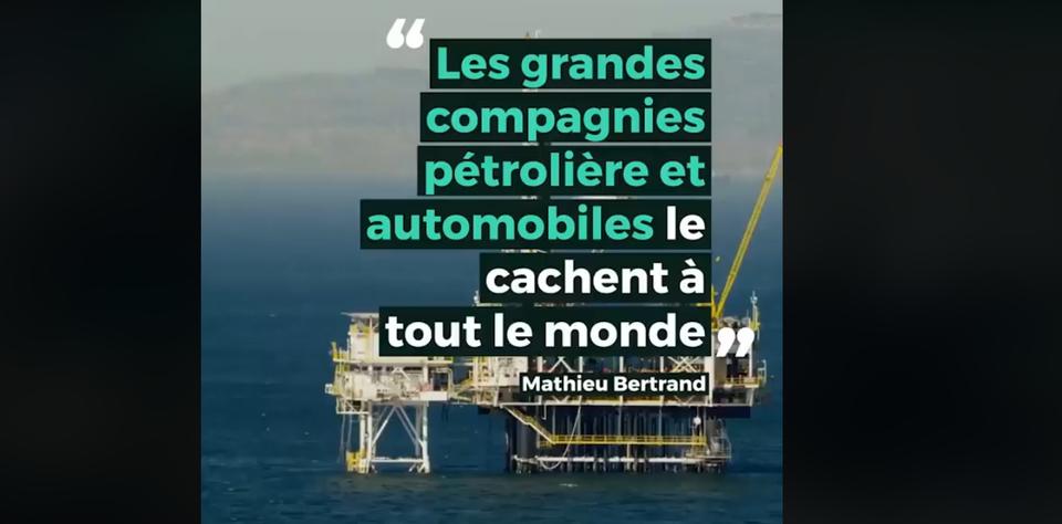 Qu'en est-il de l'histoire d'un étudiant détesté par l'industrie du pétrole.