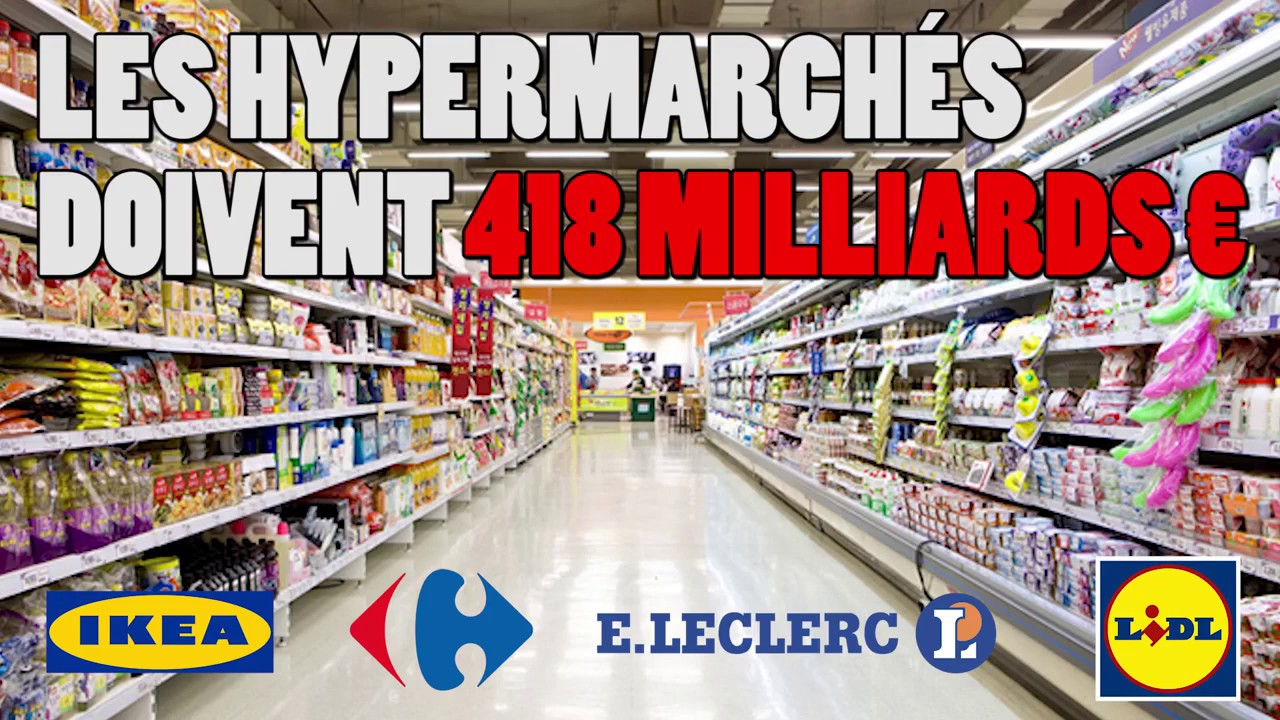les hypermarchés doivent à l'Etat 418 milliards