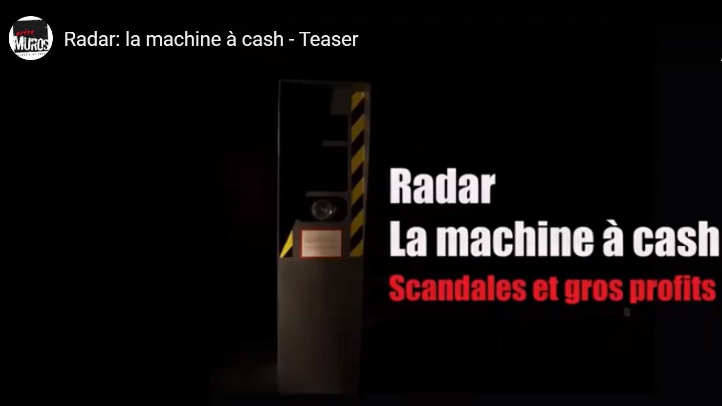 Une enquête dévoile les Profits des radars